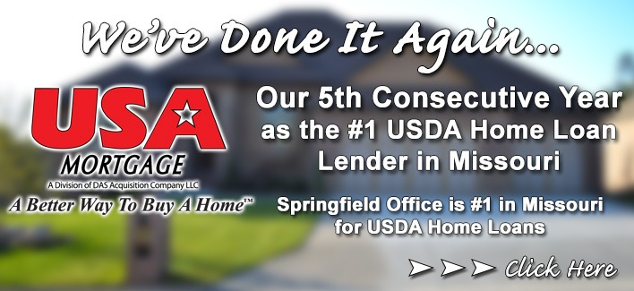 #1 USDA Home Loan Lender in Missouri
