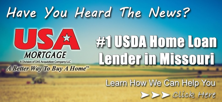 USA Mortgage #1 USDA Lender in Missouri