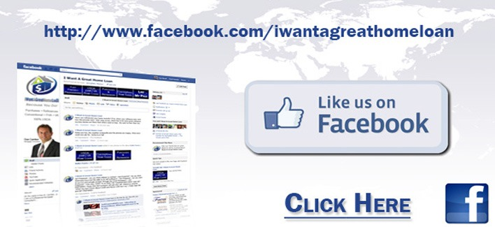 Follow I Want A Great Home Loan on Facebook